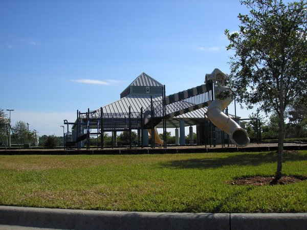Play equipment at Clubhouse Park