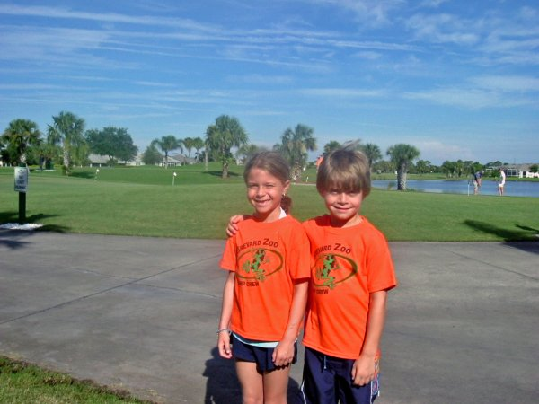 R. Thorner's Grandkids at Viera East Golf Club
