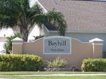 Main sign of Bayhill
